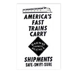 Fast Trains Postcards (Package of 8)