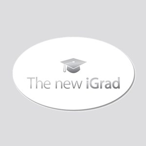 The new iGrad 20x12 Oval Wall Decal
