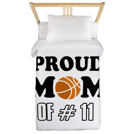 Cool Basketball Mom Designs Twin Duvet
