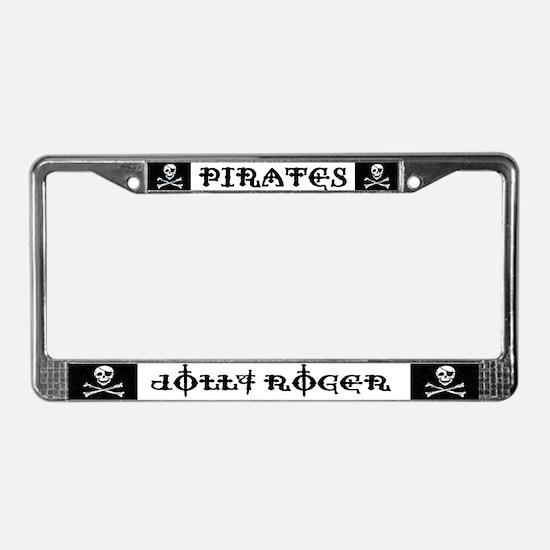 Pirate Cove License Plate Frame