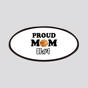 Cool Basketball Mom of number 1 Patches