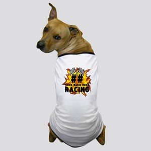 Flaming Racing Dog T-Shirt