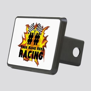 Flaming Racing Hitch Cover