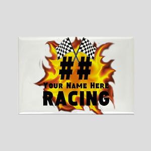 Flaming Racing Magnets
