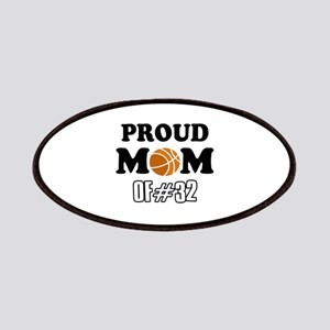 Cool Basketball Mom of number 32 Patches