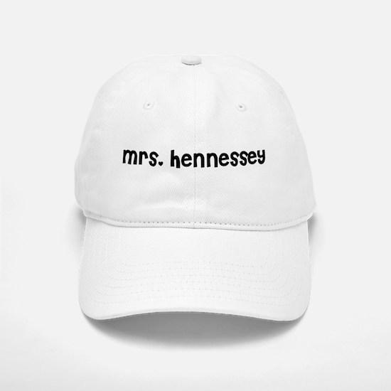 Mrs. Hennessey Baseball Baseball Cap