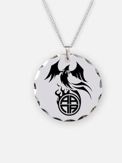 A.A.N.A. Phoenix B&W - Necklace