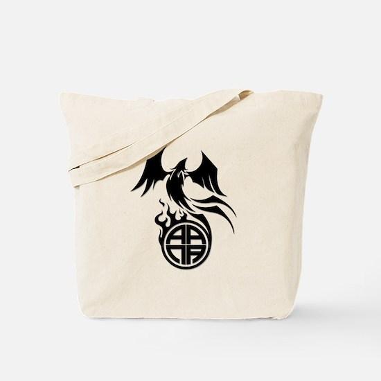 A.A.N.A. Phoenix B&W - Tote Bag