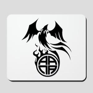 A.A.N.A. Phoenix B&W - Mousepad