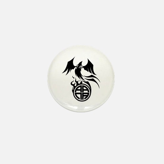 A.A.N.A. Phoenix B&W - Mini Button