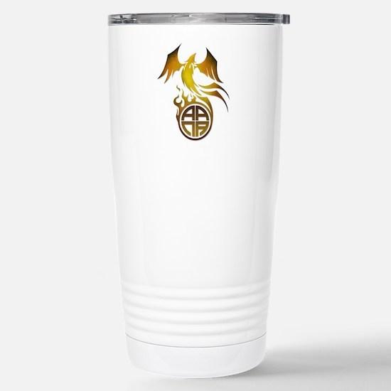 A.A.N.A. Logo Phoenix - Stainless Steel Travel Mug