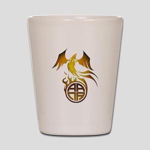 A.A.N.A. Logo Phoenix - Shot Glass