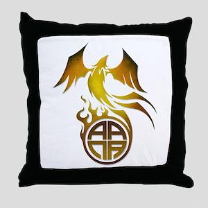 A.A.N.A. Logo Phoenix - Throw Pillow