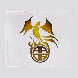 A.A.N.A. Logo Phoenix - Throw Blanket