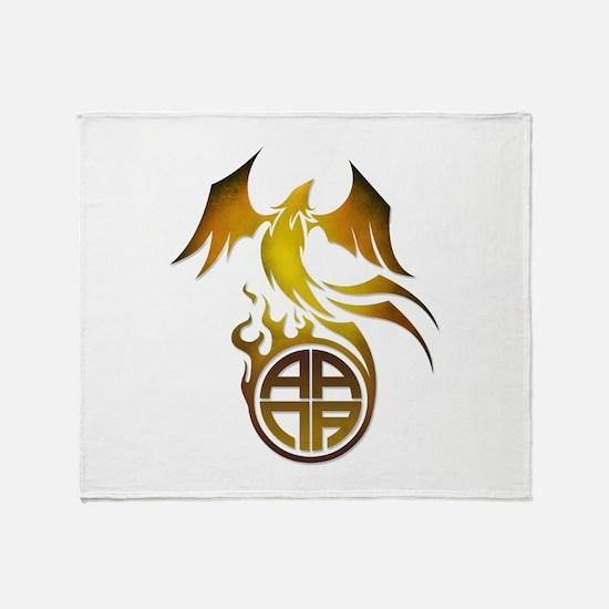 A.A.N.A. Logo Phoenix - Throw Blanket