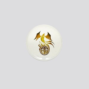 A.A.N.A. Logo Phoenix - Mini Button