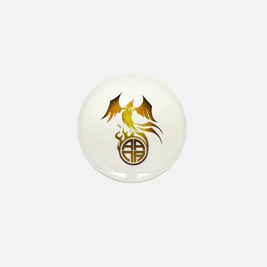 A.A.N.A. Logo Phoenix - Mini Button