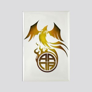 A.A.N.A. Logo Phoenix - Rectangle Magnet
