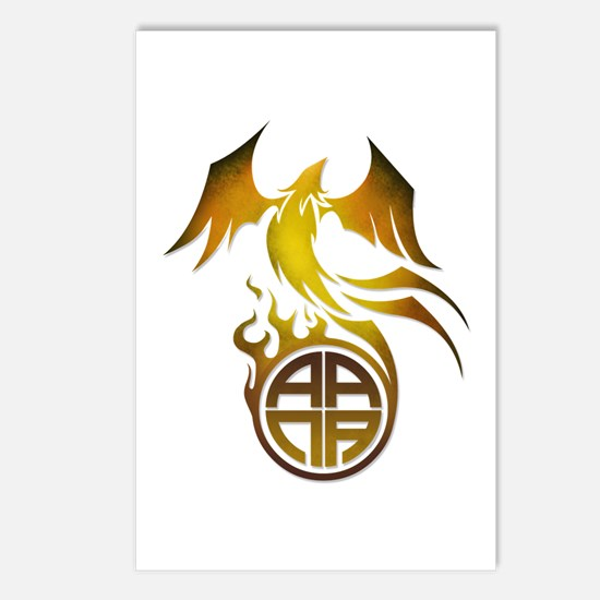 A.A.N.A. Logo Phoenix - Postcards (Package of 8)