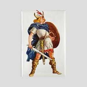 Scandinavian Viking Rectangle Magnet