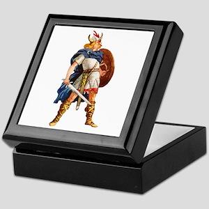 Scandinavian Viking Keepsake Box