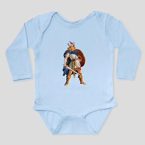 Scandinavian Viking Long Sleeve Infant Bodysuit