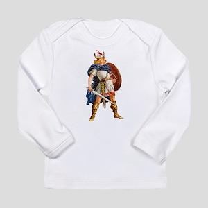 Scandinavian Viking Long Sleeve Infant T-Shirt
