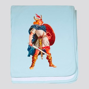 Scandinavian Viking baby blanket