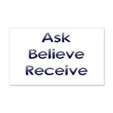 Ask Believe Receive Wall Decal