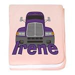 Trucker Irene baby blanket