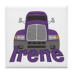 Trucker Irene Tile Coaster