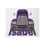 Trucker Isabel Throw Blanket