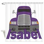 Trucker Isabel Shower Curtain