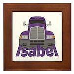 Trucker Isabel Framed Tile