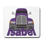 Trucker Isabel Mousepad