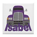 Trucker Isabel Tile Coaster