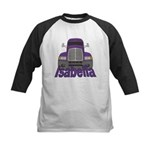 Trucker Isabella Kids Baseball Jersey