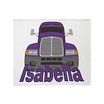 Trucker Isabella Throw Blanket