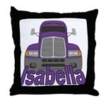 Trucker Isabella Throw Pillow