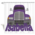 Trucker Isabella Shower Curtain