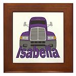 Trucker Isabella Framed Tile