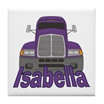 Trucker Isabella Tile Coaster