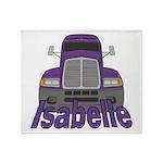 Trucker Isabelle Throw Blanket