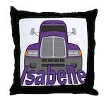 Trucker Isabelle Throw Pillow