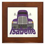 Trucker Isabelle Framed Tile