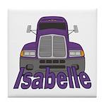 Trucker Isabelle Tile Coaster