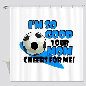 So Good - Soccer Shower Curtain