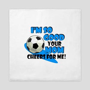 So Good - Soccer Queen Duvet