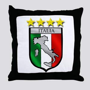 Italia Shield Throw Pillow