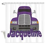 Trucker Jacqueline Shower Curtain